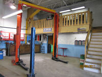 Nicely set up Auto Repair Shop for lease South Edmonton