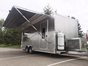 Concession Trailer - In great condition and ready to roll