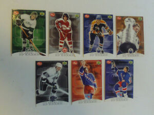 SET DE CARTES DE HOCKEY WAYNE GRETZKY CEREALE POST 1999-2000