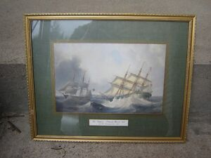 3 FRAMED ANTIQUE PRINTS/COLLECTIBLES/PICTURES London Ontario image 2