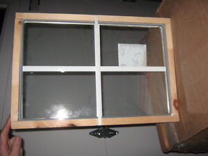 2 thermo pane units (Window Glass) 13 5/8 x 20 5/16 inches