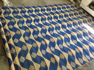 tapis Rafia plastic