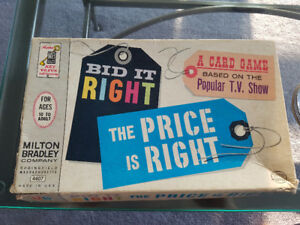 1964 Bid it Right - The Price is Right Game