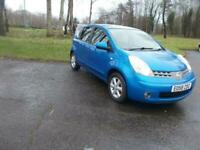 2008 Nissan Note 1.4 Acenta 5dr MPV Petrol Manual