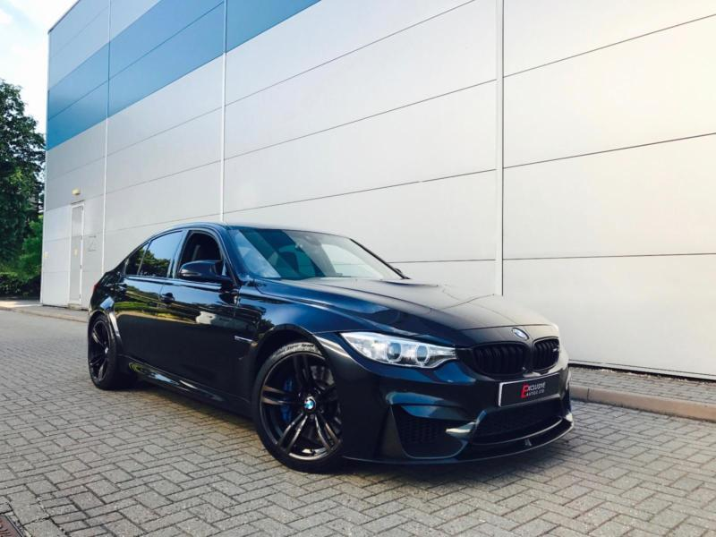 2015 65 Reg Bmw M3 3 0 Dct Black Black Leather M Performance