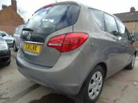 2011 Vauxhall Meriva 1.4 16v ( 120ps ) ( a/c ) S full service low miles mint