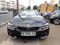 BAD CREDIT CAR FINANCE 2015 65 BMW 420d CONVERTIBLE M SPORT PLUS AUTO