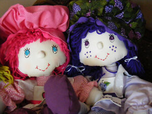 Muffin Top rag dolls all hand made