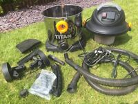 TITAN 1400w 20ltr wet and dry vacuum cleaner 240v Hoover