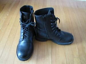 womans Harley Davidson MC boots