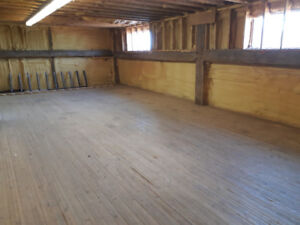 Winter Storage - Insulated, Secure, Wooden Floor, Clean & Dry