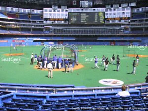 Blue Jays Home Opener, 2 tix, section 123 Row 21, seats 1 & 2