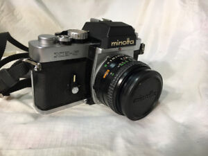 Minolta XE-5 35mm Film SLR Camera