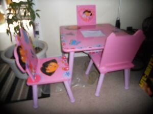 a child's table
