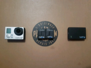 GoPro Hero3+ and accessories