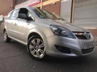 Vauxhall Zafira 2012 1.7 TD Excite 5 door 1 OWNER, F/S/H, 7 SEATS, BARGAIN