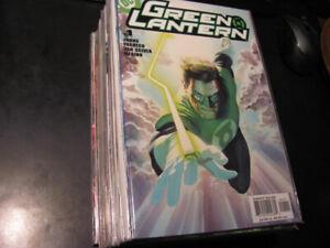 Green Lantern Comic Book Run Complete