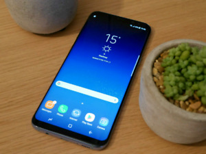 Samsung S8 - Mint Condition