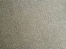 Brown woven / sisal style carpet