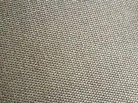 Brown woven / sisal style carpet