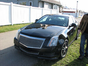 2010 Cadillac CTS black Sedan