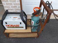 Hobart MIG Welder Handler 120 with cart