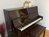 Excellent Condition Polished Upright Piano