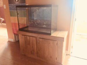 70 gallon Large fish tank with everything needed