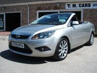 2009 (09) Ford Focus CC 2.0TDCi CC-2 Convertible Coupe ** 61,000 miles **
