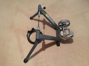Cycle Ops Fluid 2 Trainer and Front Wheel Block