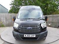 2016 Ford Transit 350 Trend JUMBO HIGH ROOF & A/C XLWB Panel Van Diesel Manual