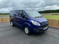 FORD TRANSIT CUSTOM LIMITED SWB 2.2 TDCi 125PS T270 BLUE TREND VAN ***NO VAT***
