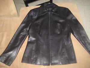 Women's Small Lambskin Leather Jacket