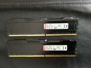Kingston HyperX Fury Black Series 16GB (2x8GB) DDR4 2133MHz