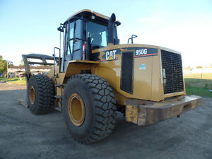 2005 CATERPILLAR 950G WITH LOG GRAPPLE AT www.knullent.com Edmonton Edmonton Area image 3