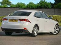 14 Lexus IS 250 2.5 Auto SE Non Hybrid 1 OWNER FSH NAV Camera Pearl White PX Wel