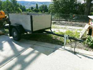 """MOVING SALE ! 50"""" X 73"""" UTILITY TRAILER"""