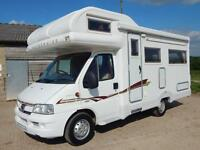 Autocruise STARSPIRIT, 2004, 4 Berth, DEPOSIT NOW TAKEN!