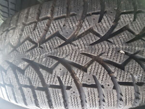 LIKE NEW 245 65 17 TOYO WINTER TIRES