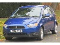 Mitsubishi Colt 1.3 2012MY CZ2 Just One Owner/10000 Miles (FSH)