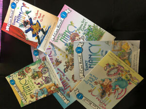 7 Fancy Nancy beginner readers