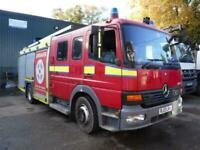 2003 Mercedes Atego 1328 Fire Engine