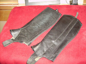 ARIAT LEATHER HALF CHAPS ***REDUCED***
