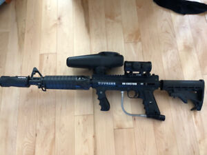 Paintball Gun - Upgraded Tippmann 98 Custom, comes with all seen