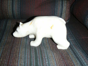 Father's Day Soapstone Bear