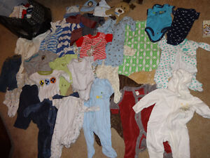 Boys 0-3 Months Clothes - Good Condition!
