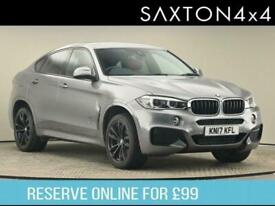 image for 2017 BMW X6 3.0 30d M Sport Auto xDrive (s/s) 5dr SUV Diesel Automatic