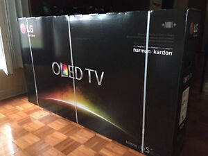 OLED TV BRAND LG 65 POUCES CURVED/65 inch