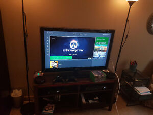 Xbox One with lots of  games and accessories