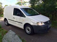 09 VW CADDY VAN 5dr 2.0 SDI - Fully Serviced & MOT'd - NO VAT